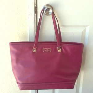 Authentic Kate Spade pebble leather tote
